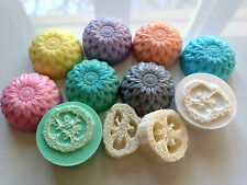 Wholesale Lot of 24 Loofah Soap with Goat's Milk - 4 oz Bar - Free Shipping