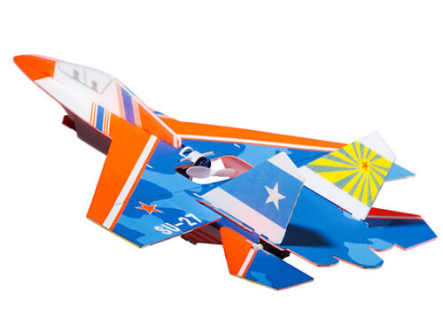 """RC Micro SU-27 w//6 Axis Gyro DSM2 Compatible 300mm 11.8/"""" PNF"""