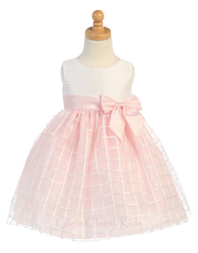 New Baby Toddler Flower Girls Dress Pageant Wedding Christmas Party Easter M702