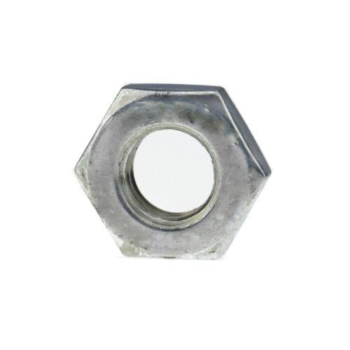 Sechskantmuttern DIN 439 Stahl 04 galvanisch verzinkt niedrige Form B