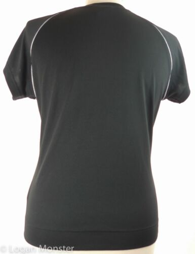 con Camisa top M cuello pico negro en y Medium Technical Adidas rTIxwTO1