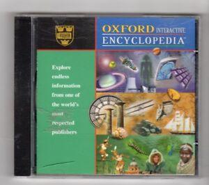 Importé De L'éTranger (id959) Oxford Interactive Encyclopedia, Version 1.0 - 1997 Cd-rom-afficher Le Titre D'origine Couleurs Fantaisie