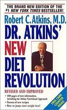 Dr. Atkins New Diet Revolution by Robert C Atkins MD 2001 Paperback WT6289