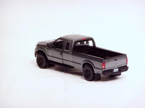 "1//50 BLACK Wheels /""GRAY/"" Ford F250 Super Cab 8 Ft Bed Sword #SW1100Ab"
