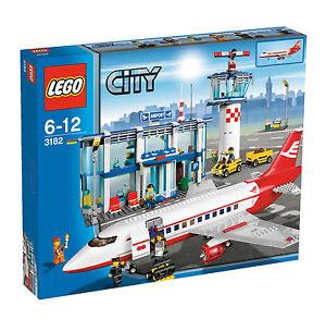 Lego City Großer Flughafen 3182 Günstig Kaufen Ebay