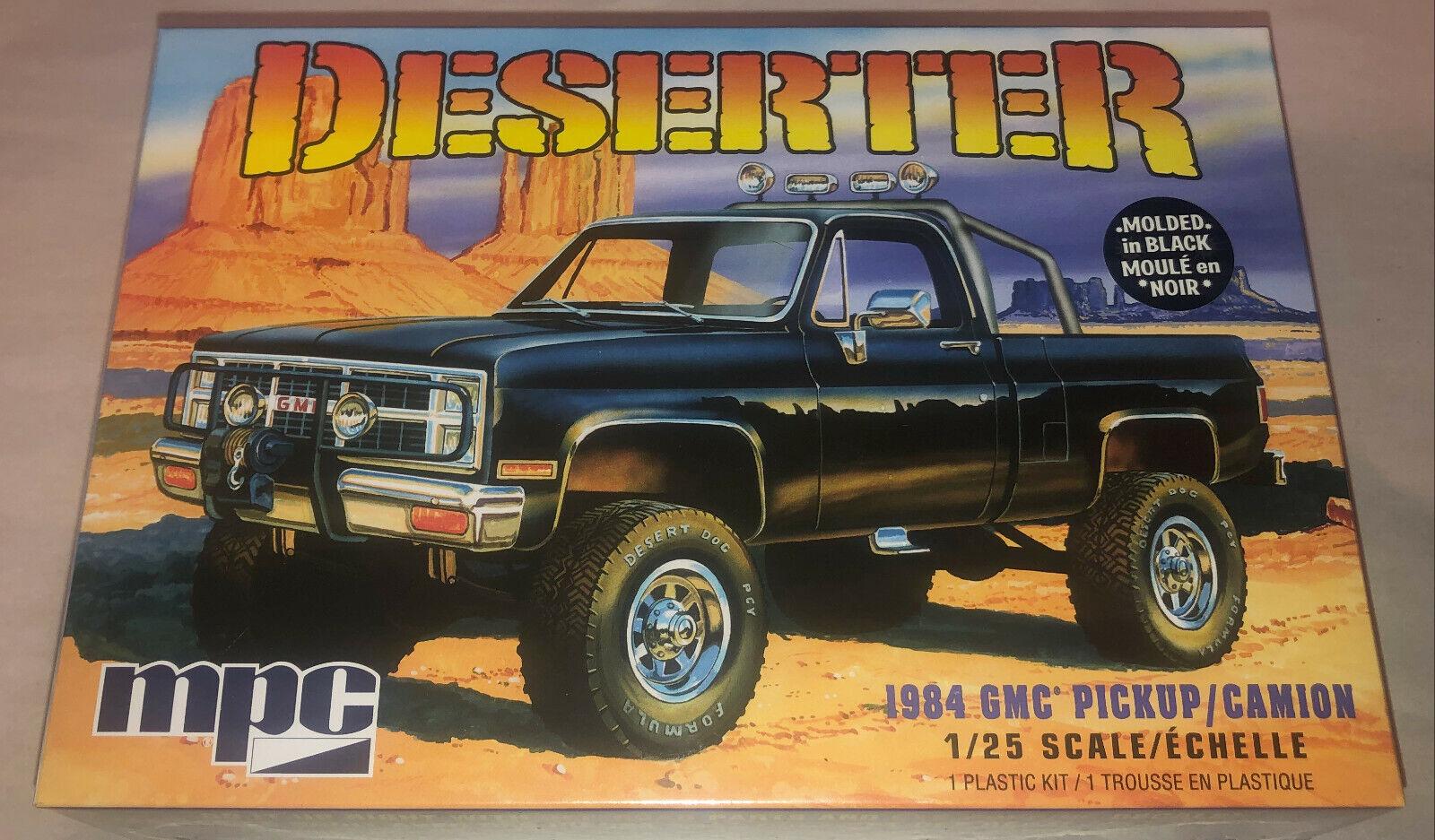 Mpc Monster Datsun Truck 4 X 4 Wrecker Model Kit 1 0454 1984 For Sale Online Ebay