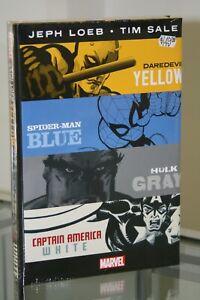 MARVEL-COMICS-YELLOW-BLUE-GRAY-amp-WHITE-OMNIBUS-HARDCOVER-GRAPHIC-NOVEL
