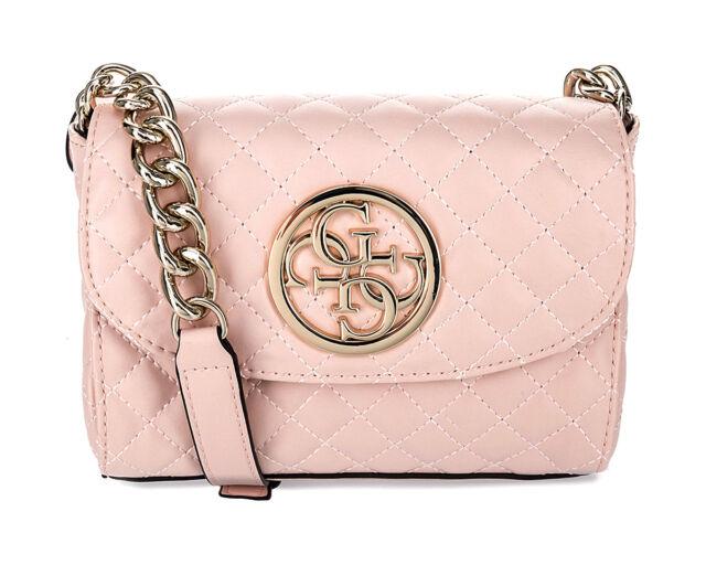 8f17cde1fd GUESS Cross Body Bag G Lux Mini Crossbody Blush for sale online