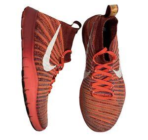 Nike-Train-TR-Force-Flyknit-Men-039-s-Size-8-Red-Cross-Training-Running-833275-664