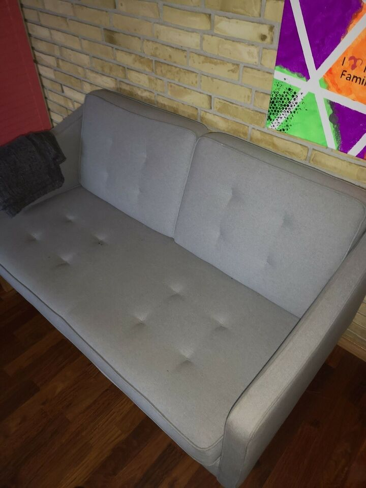 Sofa, bomuld, 2 pers.