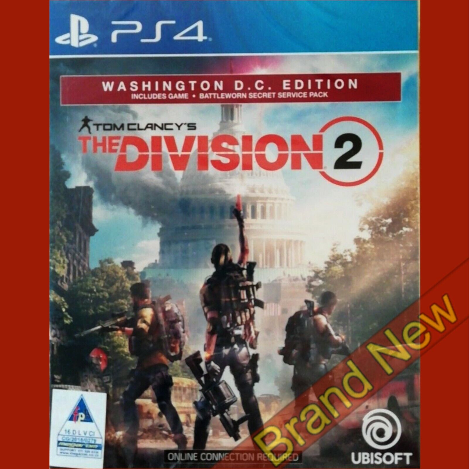 THE DIVISION 2 WASHINGTON D.C. EDITION - PlayStation 4 PS4 ~ Brand New & Sealed