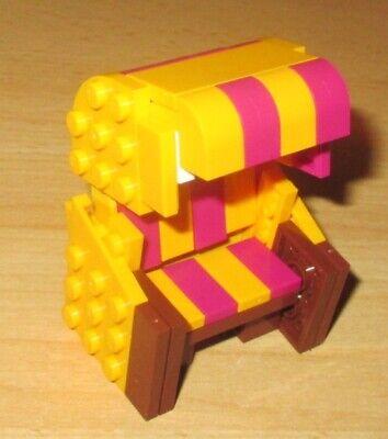 Lego Friends 1x Korb hell Lila und 1x Becher Rosa Transparent City Zubehör