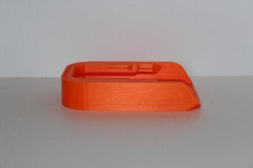 Orange battery holder cover for DeWALT XR 18v