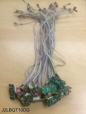"""Lot 10: New 24"""" PC Case Front USB Audio Port Panel PCB /Motherboard Header Cable"""
