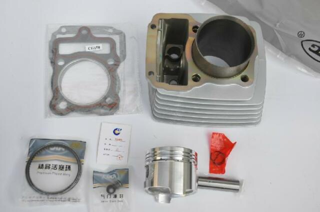 Non EGR Cylinder Head and Valves Set for Chinese CG150 Engines 162FMI