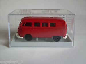 VW-T1b-034-Economia-034-Rosso-H0-Auto-Modello-1-87-Brekina-31553