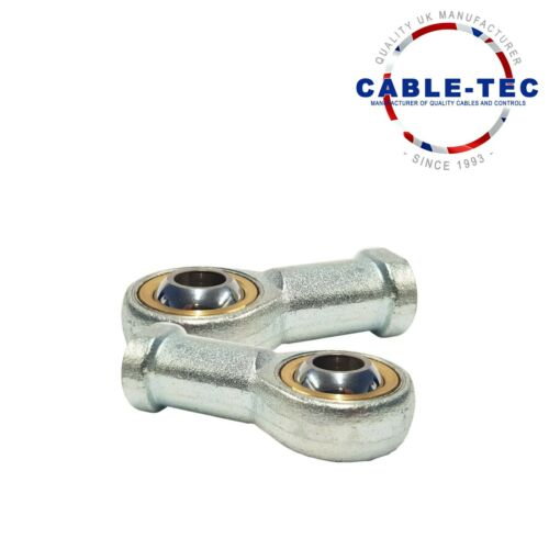 2 X M6 ROSE JOINT ASSYCable Tec
