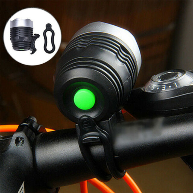 1800LM Waterproof Bicycle Head Light Rechargeable LED USB Front Headlamp