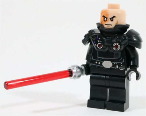 MADE OF GENUINE LEGO PARTS LEGO STAR WARS DARTH MALAK MINIFIGURE SITH JEDI
