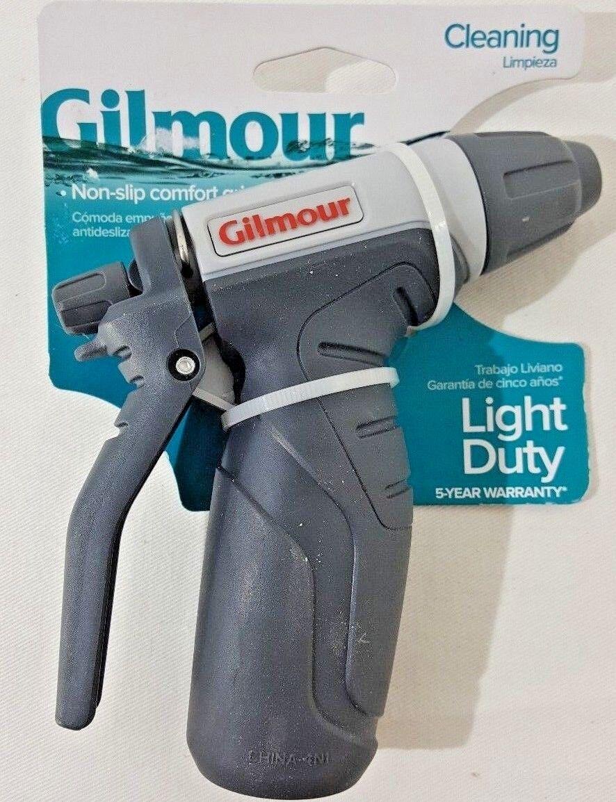 Gilmour Light Duty Adjustable Spray Nozzle with Non-Slip Custom Grip A8-4