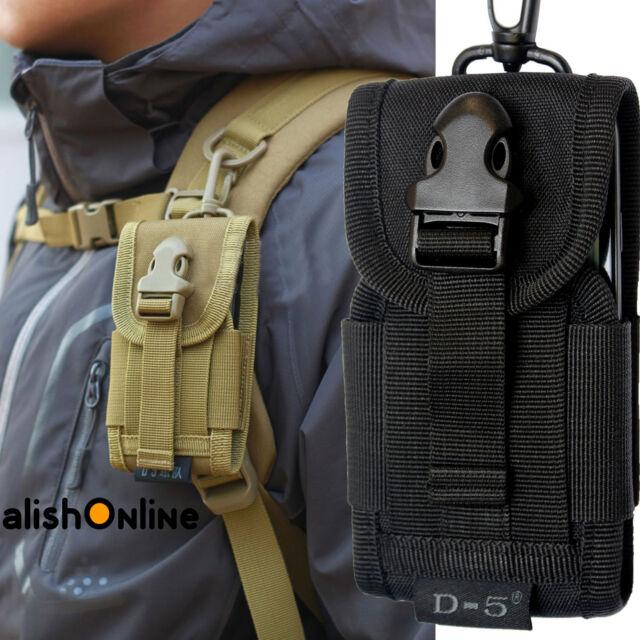 Universal cinturón Bolsa Gancho Funda Protectora Ejército Camo Funda Bolsa Para Teléfono Celular Móvil