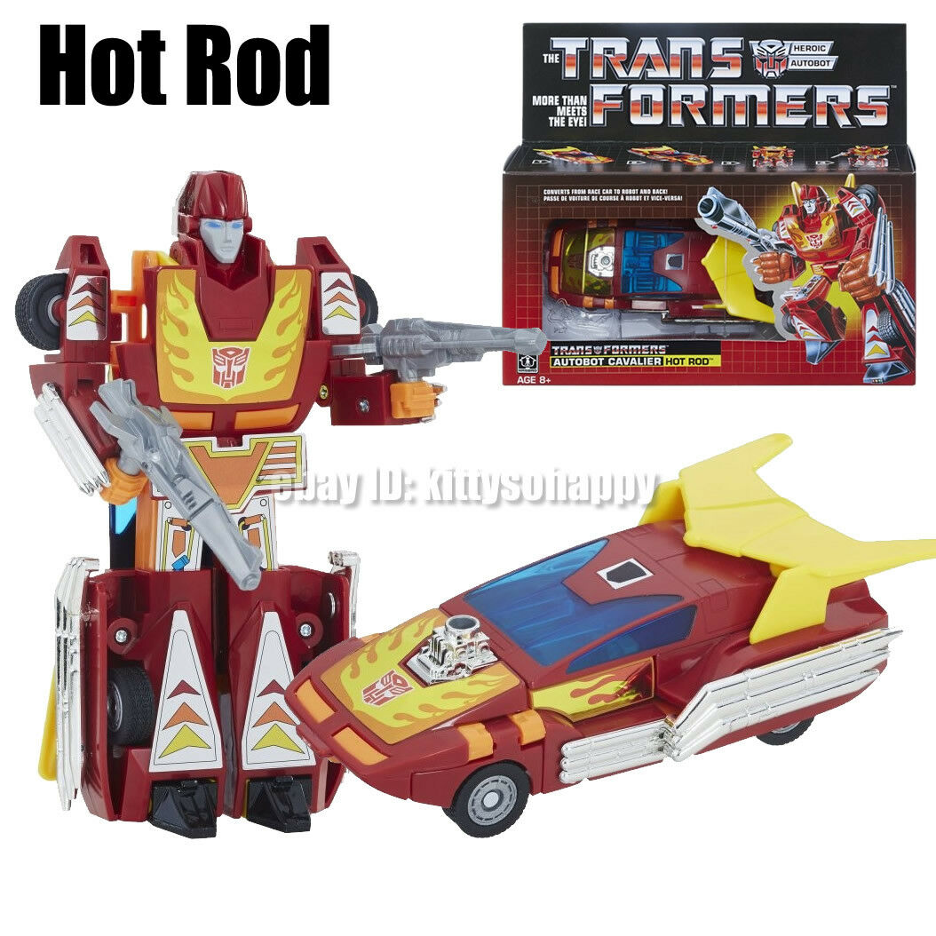 Hasbro Transformers G1 Autobot Cavalier Hot Rod Action Figure Walmart Exclusive