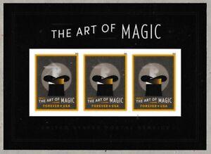 US-5306-The-Art-of-Magic-Rabbit-Production-forever-souvenir-sheet-MNH-2018