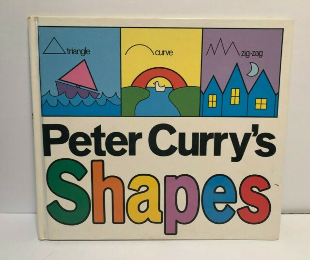 Vintage 1983 Peter Curry's Shapes By Price Stern Sloan – Hardcover