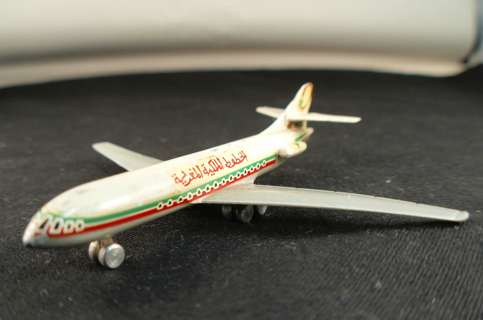 Igh F Nr. 1.10 Flugzeug Caravelle Sich 210 Air Marokko Selten