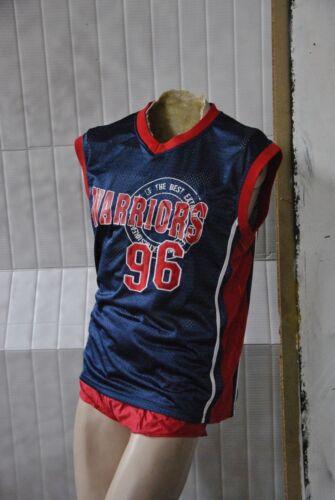 96 vintage Hemd Trikot Warriors basket da Maglietta Maglia '90 Herren anni xgwCZpB