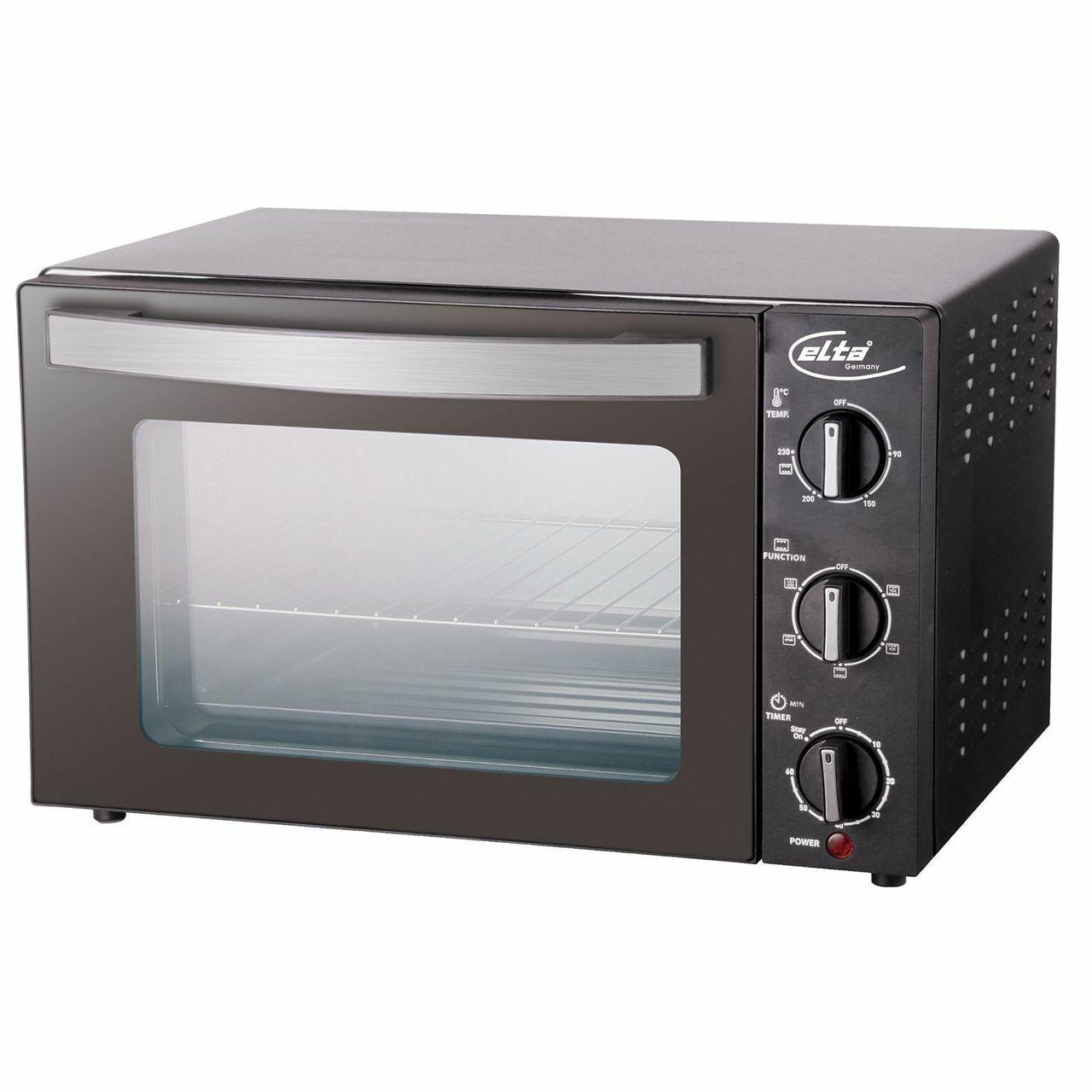 Elta Mini-Four à cuire, Rôtir, griller ou vous réchauffer, 1500 W