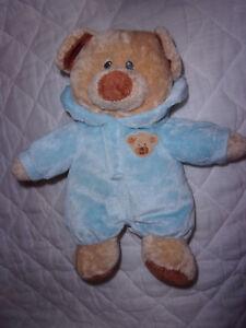 Ty-2013-Pluffies-Teddy-Bear-Boy-Lovee-12-034-Plush-Soft-Toy-Stuffed-Animal