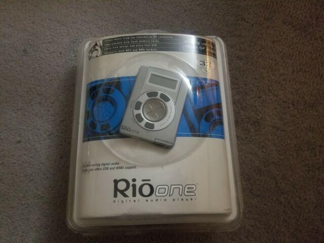 *OPEN BOX!* NEW Rio One 32 MB Digital Audio Player MP3//WMA