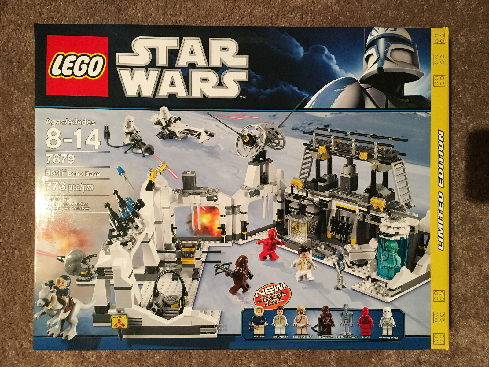 LEGO Star Wars Hoth Echo Base (7879) New in Sealed Box  Free Shipping