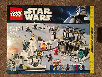 NEW LEGO Star Wars Set 7879 Hoth Echo Base 773 pcs Han Solo Leia Chewbacca Luke