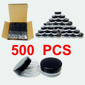 500pcs-5-gram-high-quality-Jar-cosmetic-makeup-cream-container-Jewelry-5g-5ml