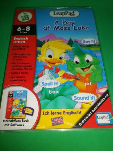 Leap Pad Leappad Spiel: A DAY AT MOSS LAKE Leap Frog Englisch lernen