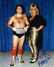 FOUR 4 HORSEMAN BABY DOLL 8x10 PHOTO AUTOGRAPH AUTOGRAPHED W/ TULLY BLANCHARD