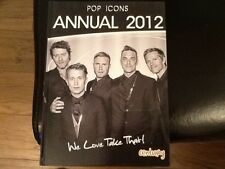 POP ICONS ANNUAL 2012: WE LOVE TAKE THAT GARY BARLOW . MARK OWEN Hardback (New)