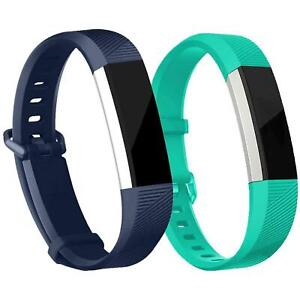 2x Fitbit Alta / HR Armband Ersatz Silikon Band Uhrenarmband Fitness Tracker