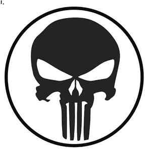 Adesivo-THE-PUNISHER-10-x10-cm-Stickers-Tuning-oer-auto-moto-scooter-casco