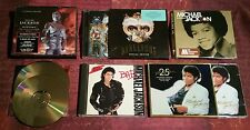 MICHAEL JACKSON CD Bundle (THRILLER CD/DVD) History BAD dangerous JACKSONS 3CD