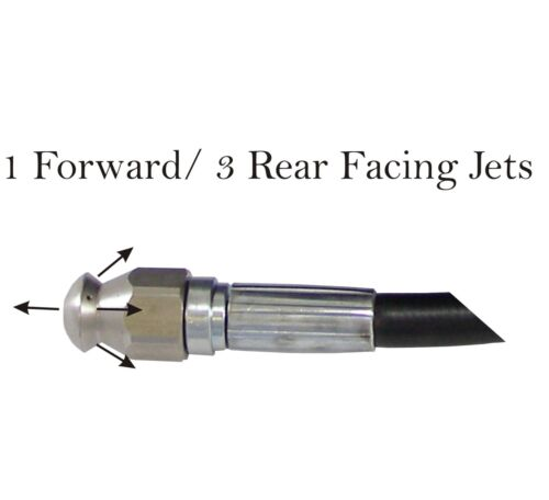 Pressure Washer Light Weight Black /& Decker Compatible Drain Hose 10M