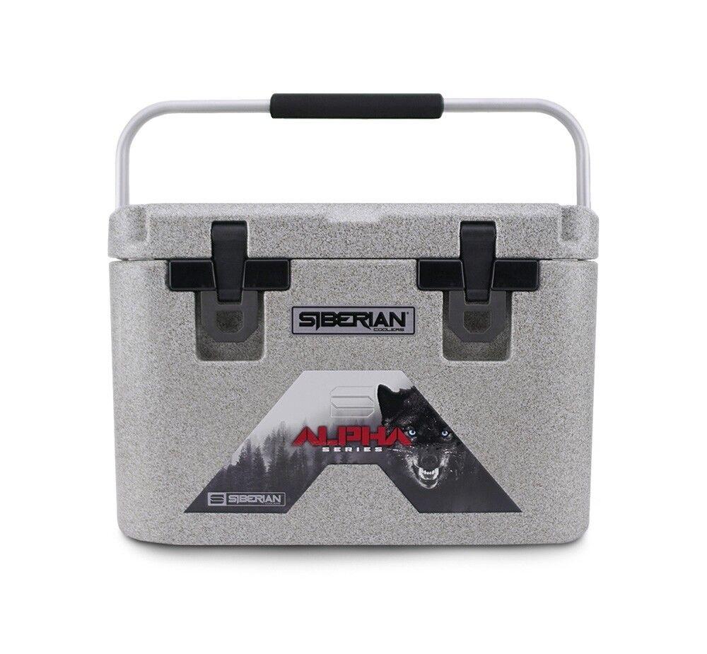 Siberian Coolers Alpha Pro Series 22 qt. Granite  FREE Accessories  famous brand