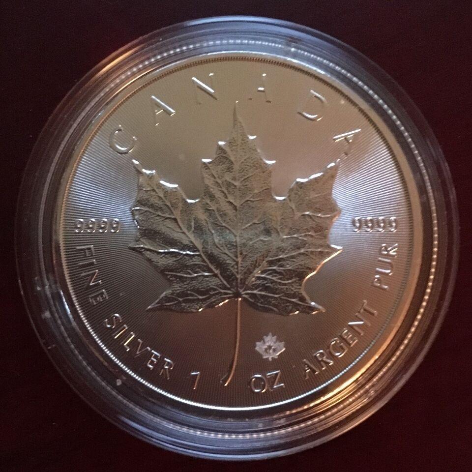 Andet land, guld- og sølvbarre, 5 $