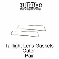 1966 Ford Thunderbird Taillight Lens Gaskets - Outer - Pair