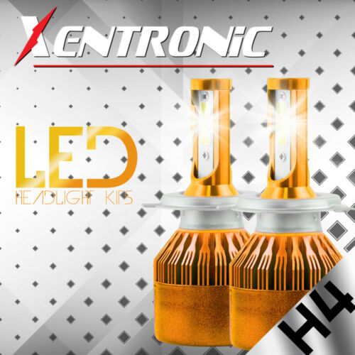 200W 20000LM PHILIPS H4 9003 HB2 LED Headlight Kit High//Low Beam Head Fog Bulb S