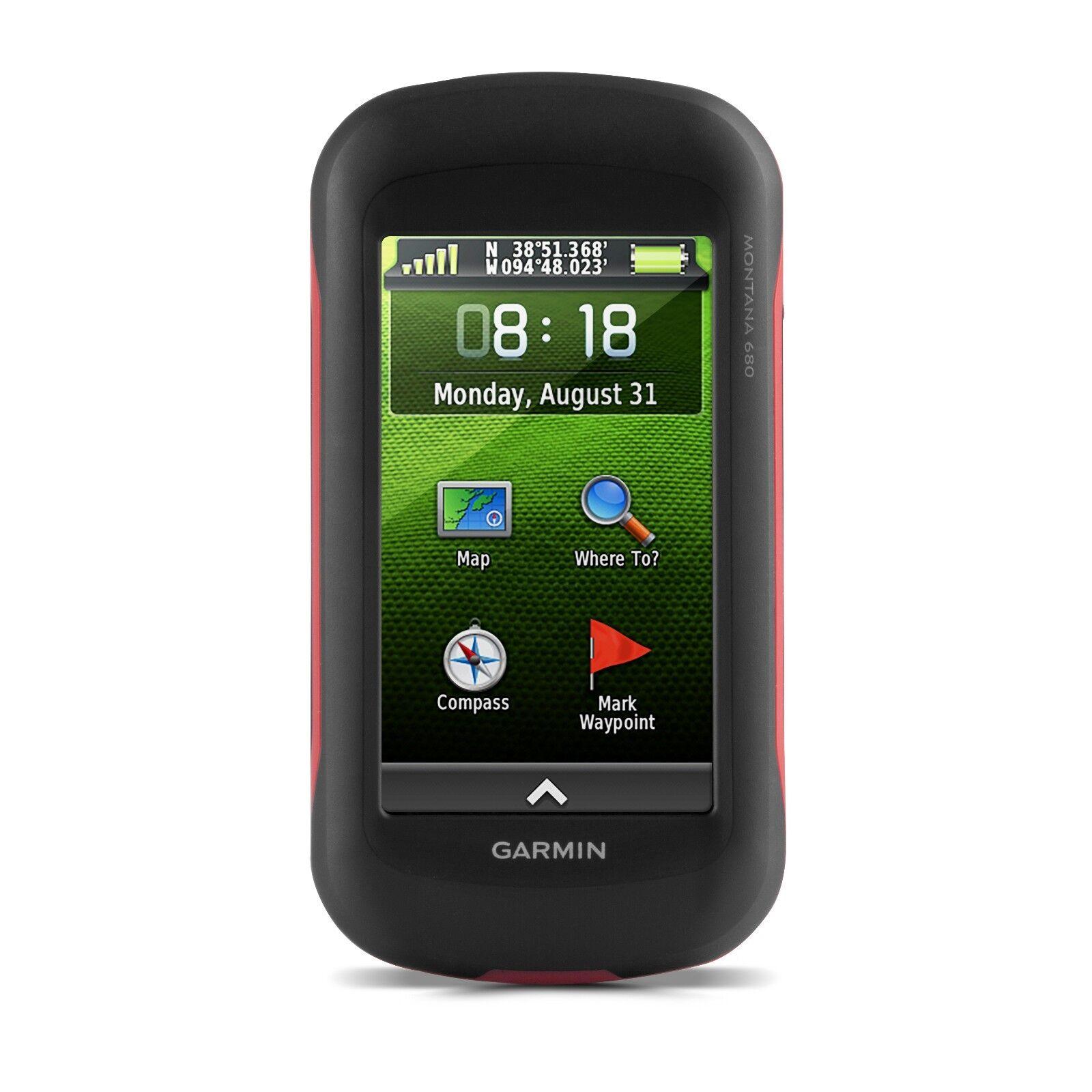 Garmin Montana 680 gree Touchscreen all'aperto GPS w GLONASS 0100153410