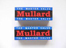EL34 Mullard Matched Pair valves for Marshall Blackstar amplifier reissue tube