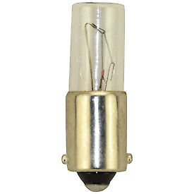 (10)REPLACEMENT BULBS FOR MINIATURE LAMP 130MB, 130V-MB, 8-3995, 949 3W 130V